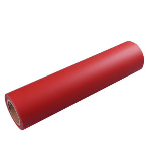 RED ADHESIVE CRAFT VINYL